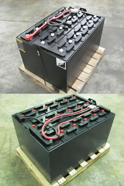 Cheap forklift batteries in Michigan, Ohio, New York, Florida